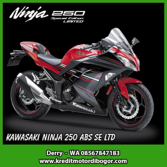 Kredit Motor Kawasaki Ninja 250 SE LTD ABS di Bogor