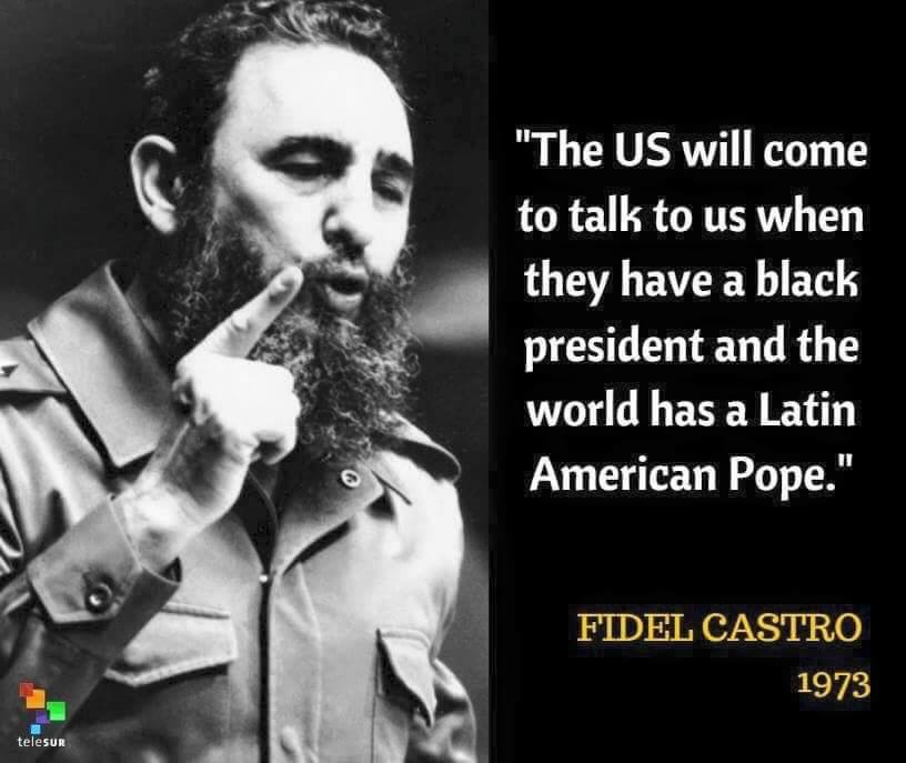 The World Mourns Fidel Castro - Checkout 9 Famous Quotes By The Revolutionary Leader