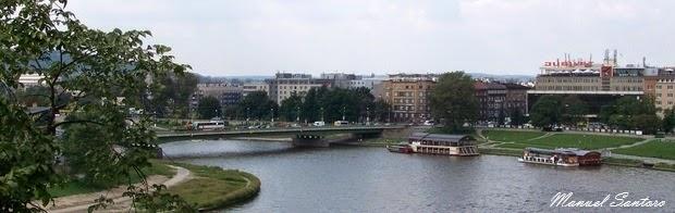 Cracovia, fiume Vistola
