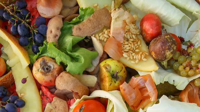 comida en descomposición