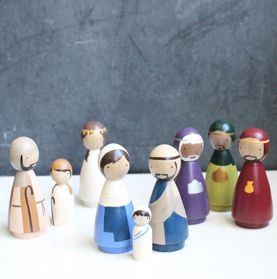 Home Design Nativity Scene Idas