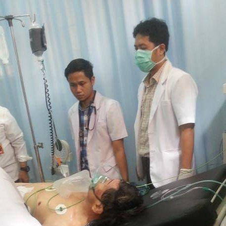 Menko Polhukam Diserang Seorang Pria di Pandeglang