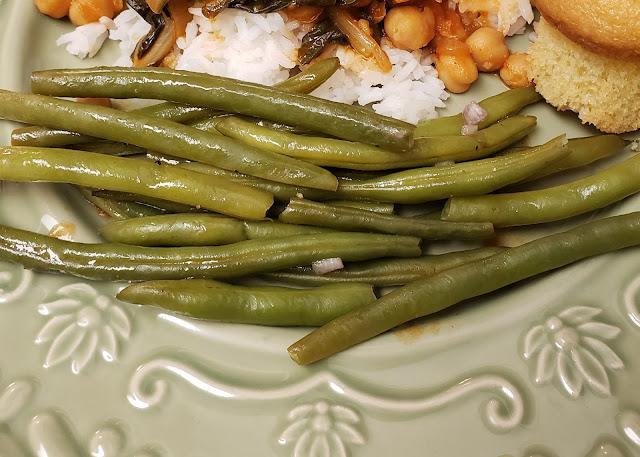 lemon green beans with shallots recipe