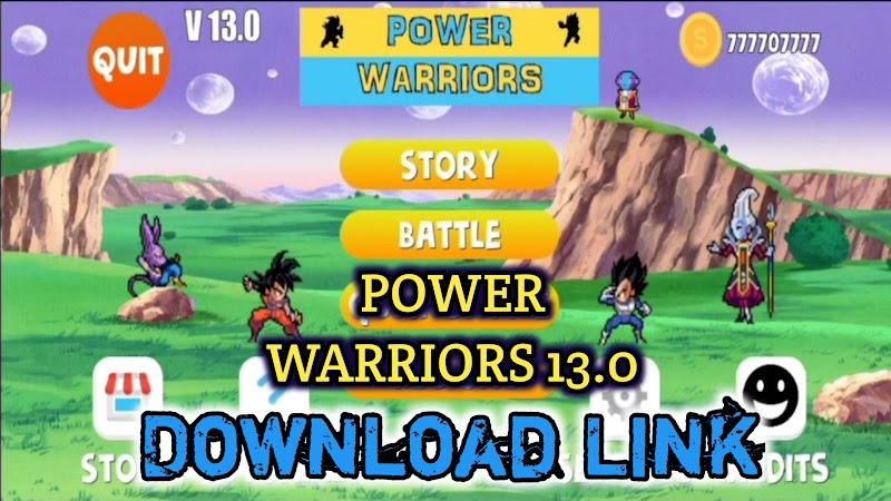 Power Warriors 13.0 Mod APK all Characters Unlocked Download