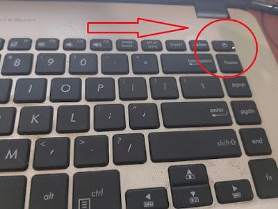 laptop tidak nyala