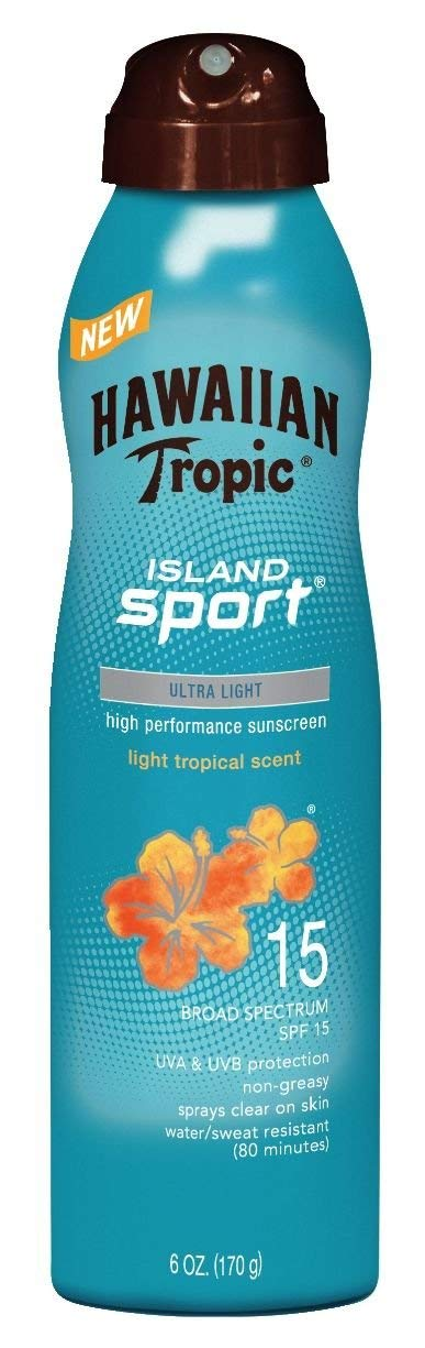 Hawaiin Tropic Aerosol Sunscreen