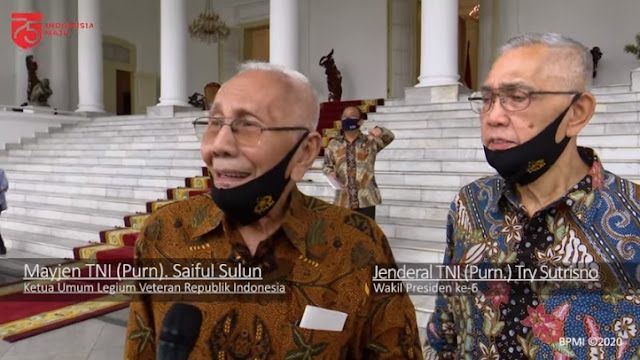 Temui Jokowi, Purnawirawan TNI Ingatkan Pancasila Jangan Dirusak Paham Komunis