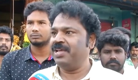 Tiruppally in the Sinhala language at Katchatheevu Anthony temple festival : Gowthaman condemns
