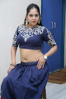 Ruchi Pandey in Blue Embrodiery Choli ghagra at Idem Deyyam music launch ~ Celebrities Exclusive Galleries 067.JPG