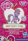 My Little Pony Wave 14 Amethyst Star Blind Bag Card