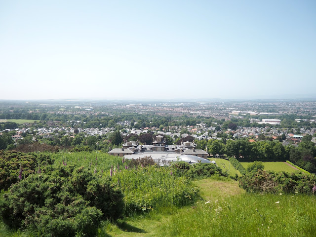 View from Western Craiglockhart Hill, Edinburgh