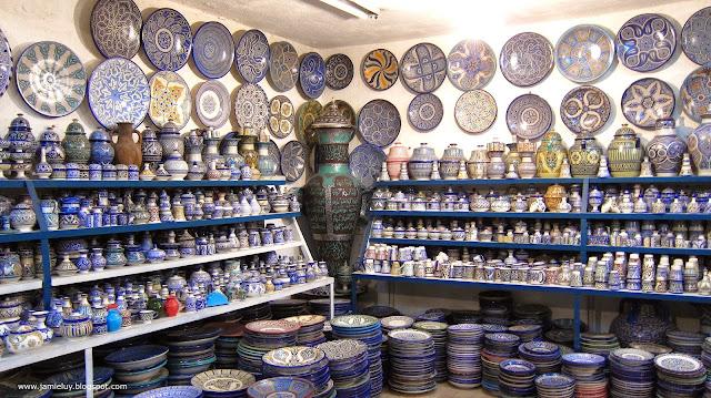 Pottery, Fez, Morocco