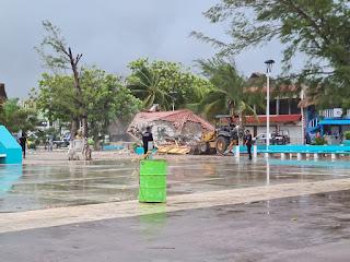 kiosco-puerto-morelos-disturbios