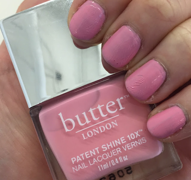 butter LONDON, butter LONDON Loverly Patent Shine 10X Nail Lacquer, nail polish, nail varnish, On Wednesdays We Wear Pink, manicure