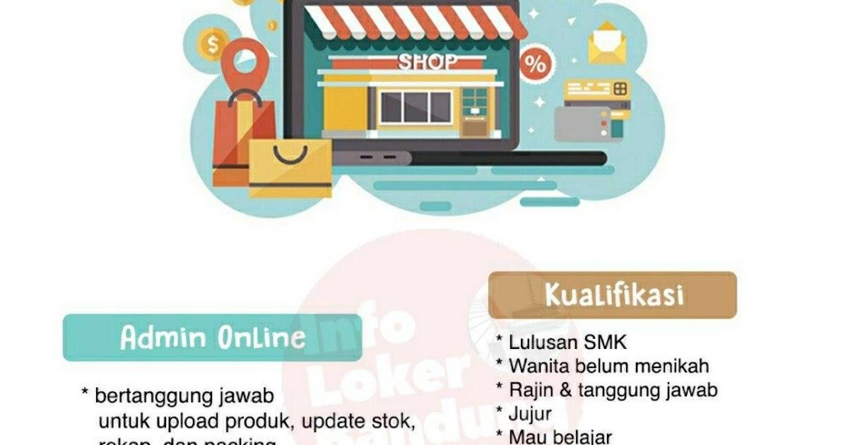 Lowongan Kerja Admin Online Toko Bayi Bandung Juni 2020 ...