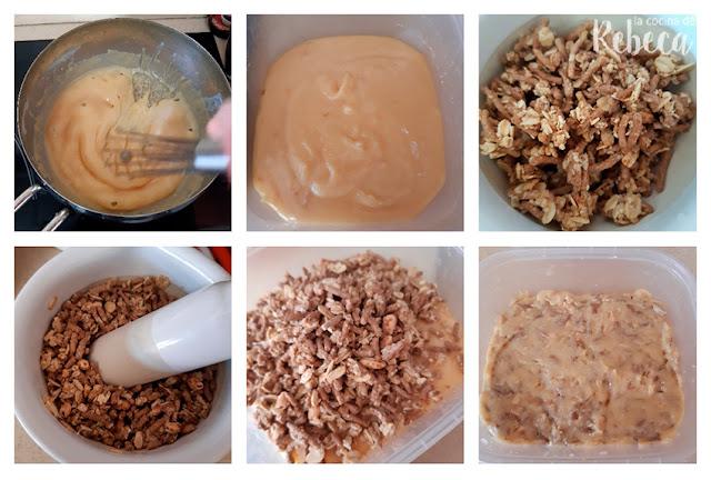 Receta de trufas crujientes de limón: la mezcla (II)
