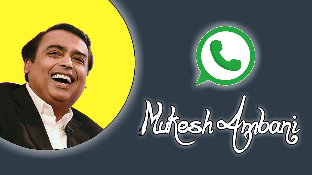 Mukesh Ambani Contact Address, Phone Number, Email ID, Website | Customer Care Phone Number