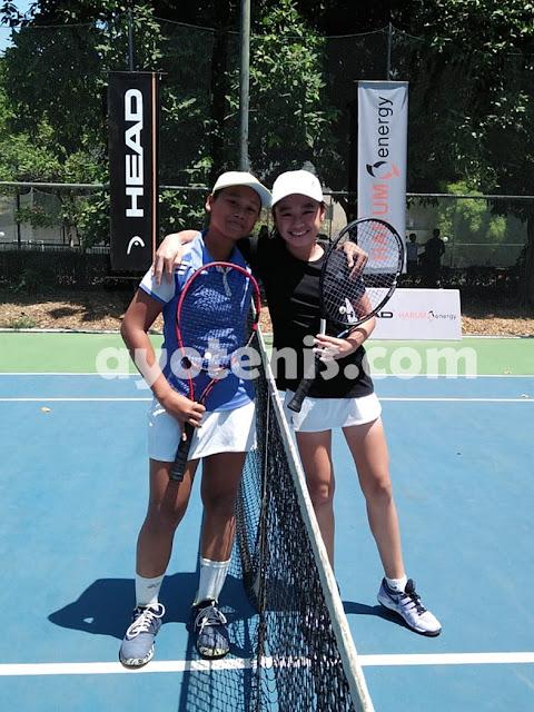 WTA FUTURE STARS - Indonesia Qualification: Kalahkan Joanne, Naura Selangkah Menuju Shenzhen