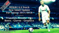 Small Patch Update For PESEdit 6.0 V1.0 Season 2017-2018 - PES 2013