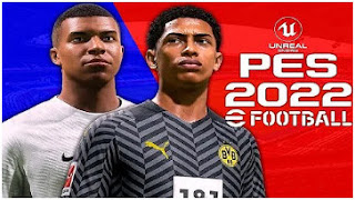 Download eFootball PES 2022 PPSSPP LITE New Version Update Transfer & Background