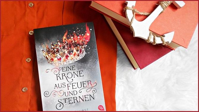 Rezension Eine Krone aus Feuer und Sternen Audrey Courthurst