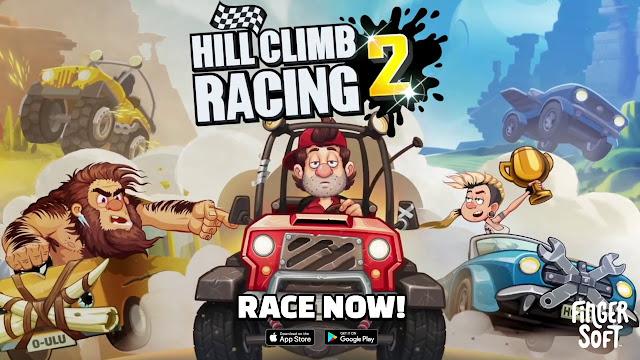 تحميل لعبة Hill Climb Racing  مجانا مع أموال غير محدودة 2021