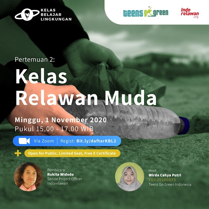 Belajar Menjadi Relawan Muda bersama Indorelawan