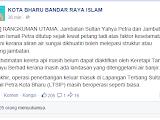 Banjir : Jambatan Sultan Ismail Petra Kota Bharu TELAH DITUTUP