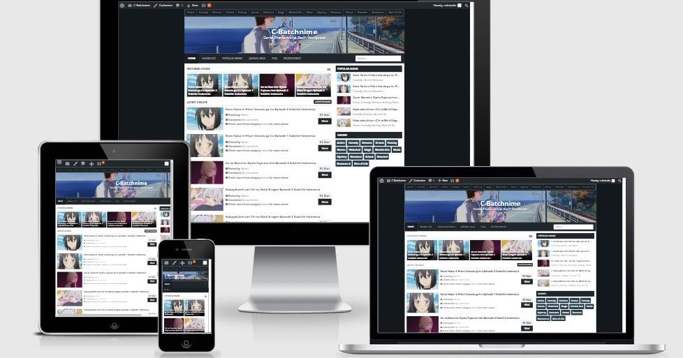 Rembatch Responsive WordPress Theme - Free Theme CC