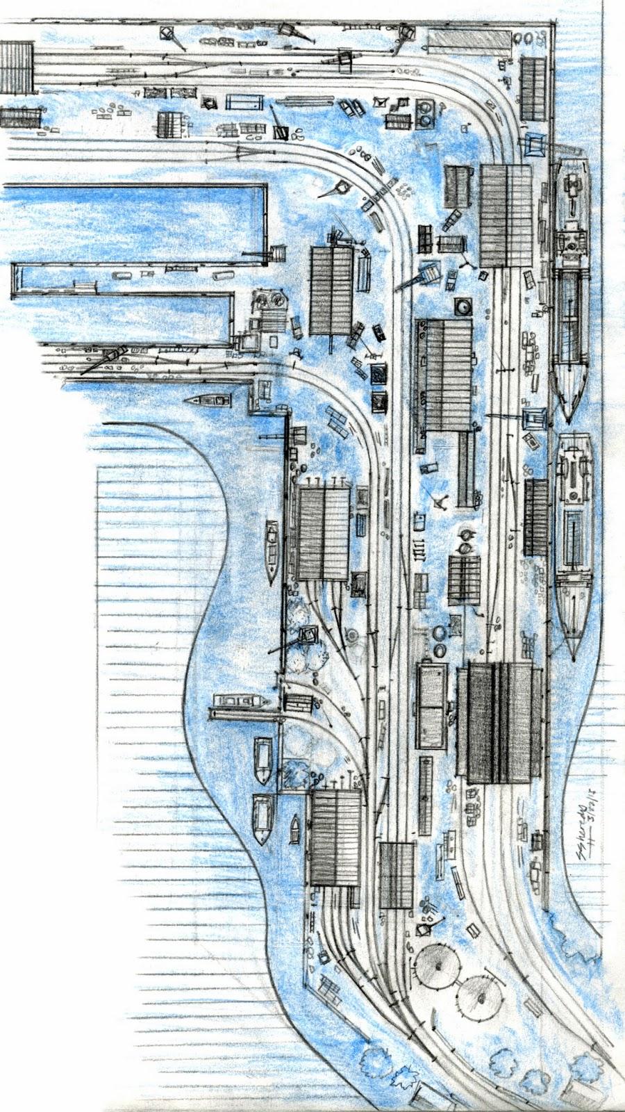 Sodormodelrailroading Brendam Docks Layout Plans