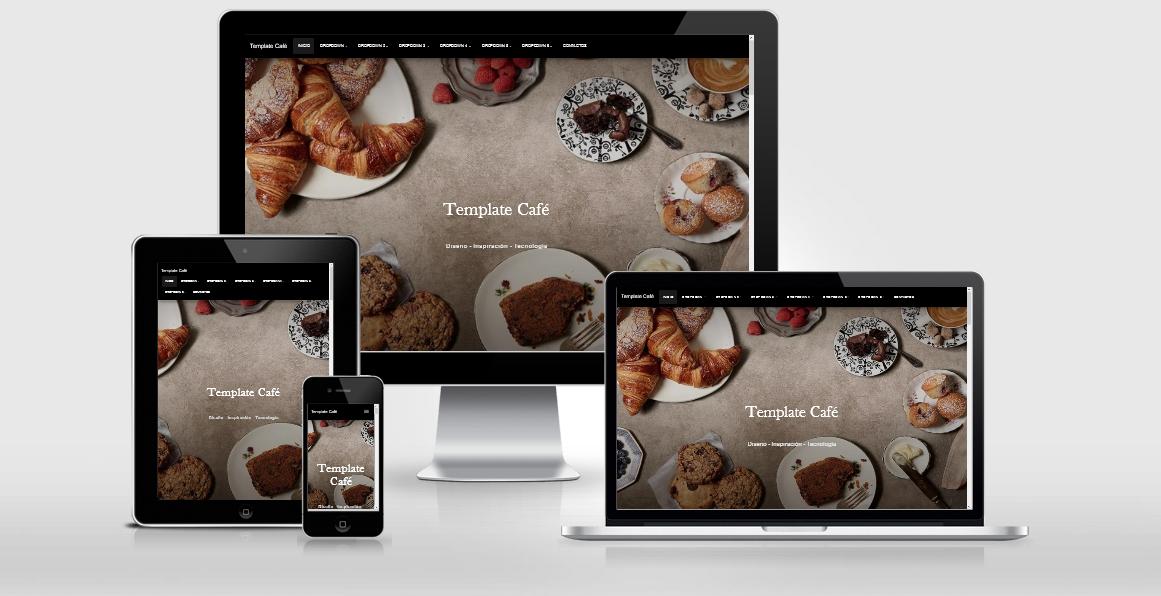 Template blogspot landing page giới thiệu sản phẩm Cafe blogger