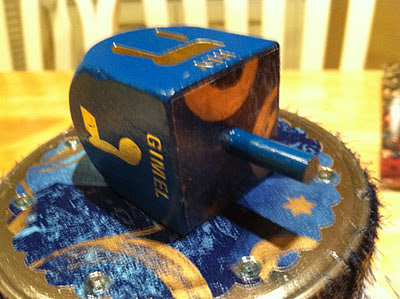 playing dreidel