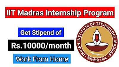 get-iit-madras-internship-with-stipend