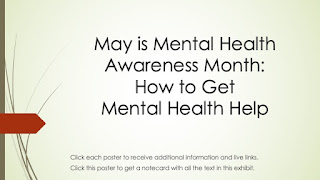 May is Mental Health Awareness Month:  How to Get Mental Health Help