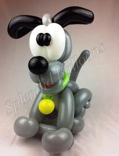 Gambar Balon Karakter Puppy_Anak Anjing Lucu_Balloon Character Puppy_10