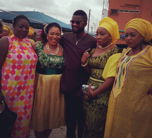 nollywood stars in festac lagos