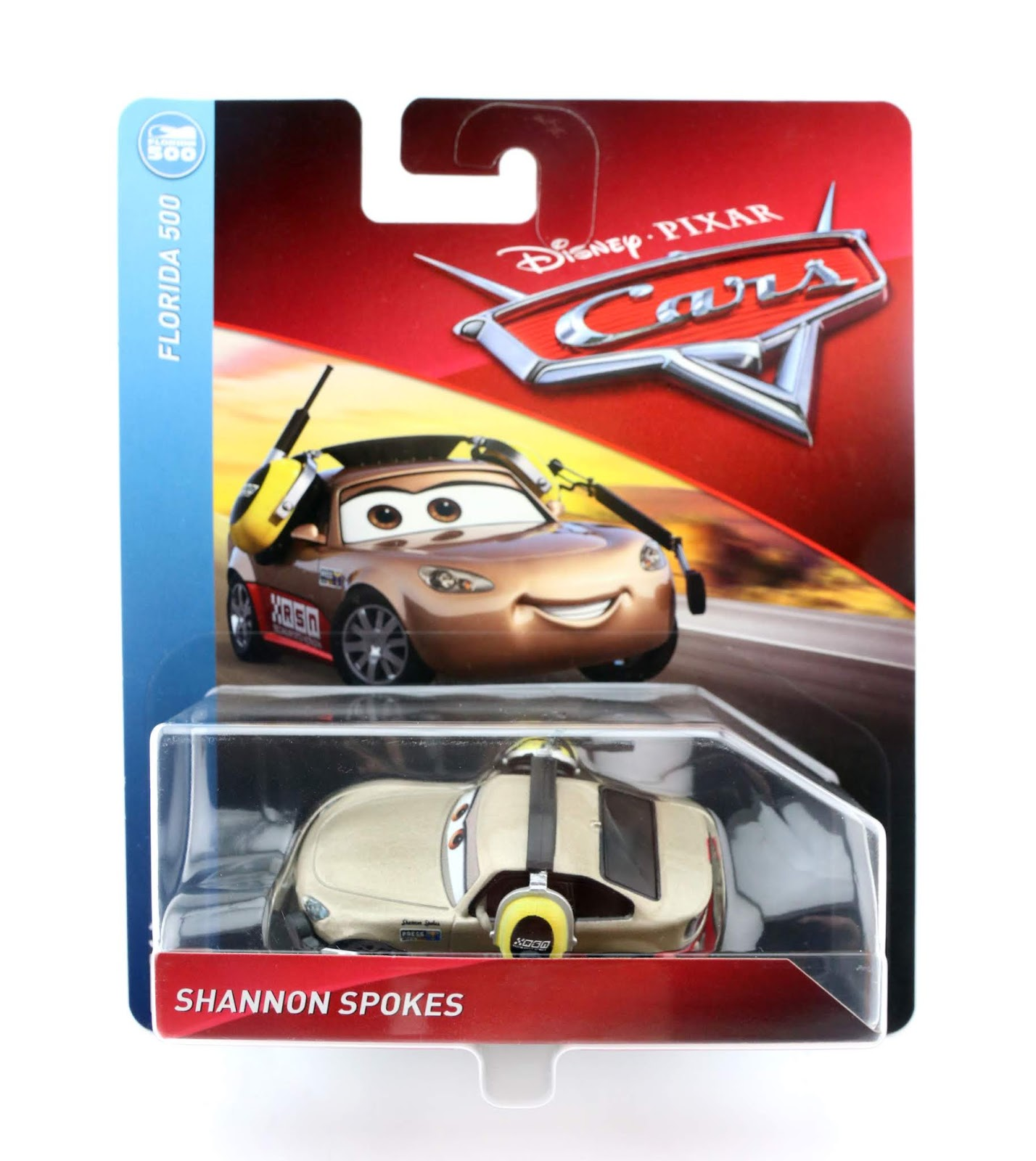 cars 3 shannon spokes diecast
