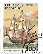 Selo Navio inglês do século XVII