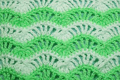 6 - Crochet Imagenes Puntada de ondas a crochet y ganchillo por Majovel Crochet