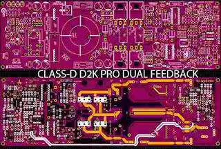 Amplifier Class-D D2K Pro Dual Feedback