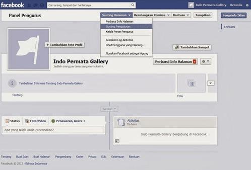 Berikut ini adalah cara menghapus halaman facebook yang bisa anda lakukan dengan mudah :
