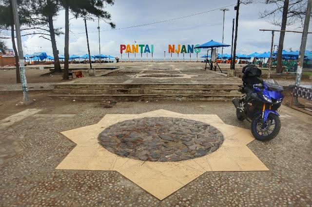Foto Indahnya Pantai Panjang kota Bengkulu