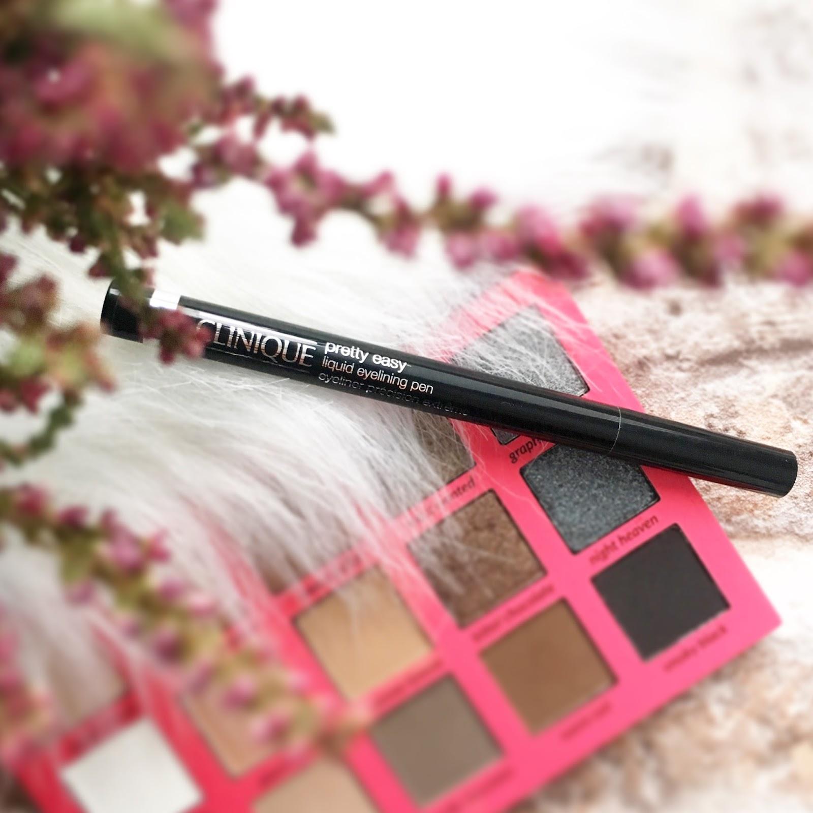 Element obowiązkowy mojego makijażu + eyeliner w pisaku z Clinique