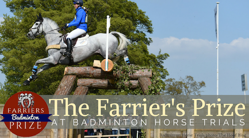 Dani Evans and Smart Time on cross-country at Badminton Horse Trials 2018