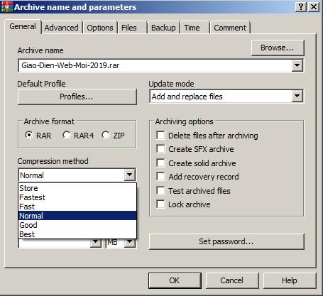 Download WinRAR - Nén, giải nén File RAR, ZIP Full miễn phí 4
