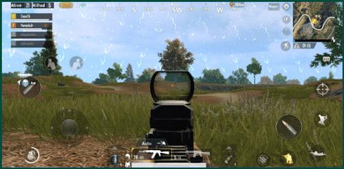 PUBG : اطلاق النار فقط عندما يكون العدو في المدى