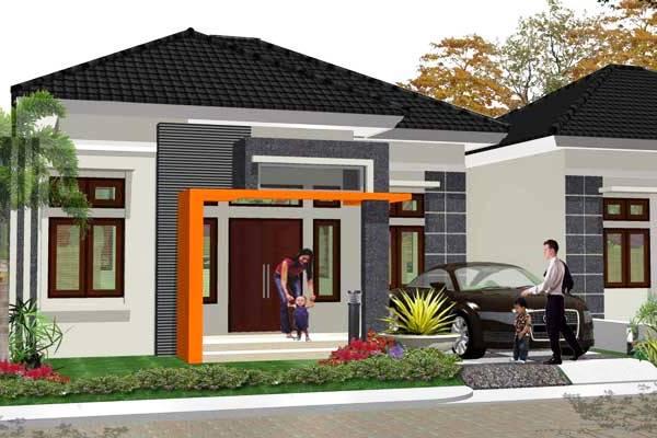 Contoh Rumah Minimalis Type 45 1 Lantai Terbaru