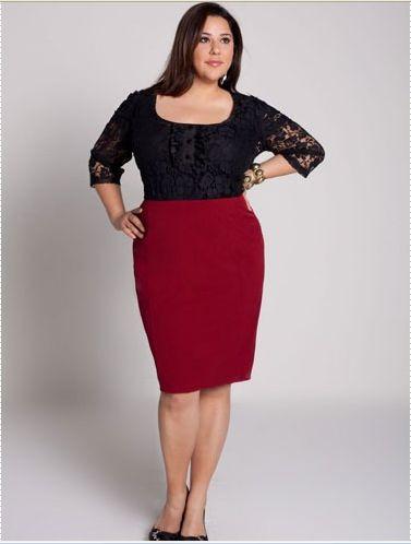 """Phụ Nữ 24h: Chọn chân váy bút chì đẹp cho cô nàng """"thừa cân"""""""
