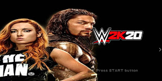 NEW!! WWE 2K20 [MOD] SVR11 PARA ANDROID E PC PPSSPP DOWNLOAD 2020