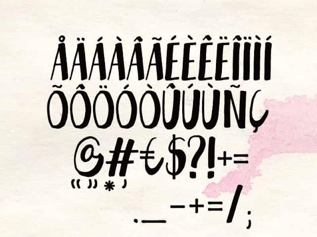 Gant free font type